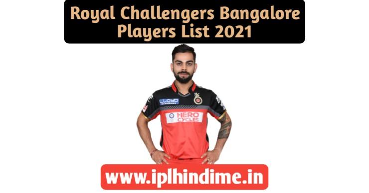 Royal Challengers Bangalore Khilari 2021
