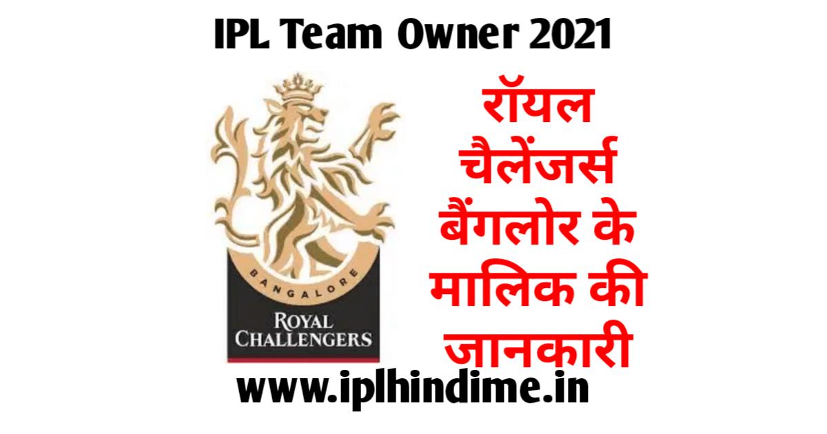 Royal Challengers Bangalore 2021 Ka Malik Kaun Hai
